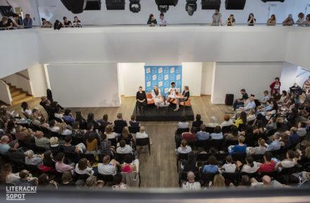 Relacje ze spotkań festiwalowych Literacki Sopot media