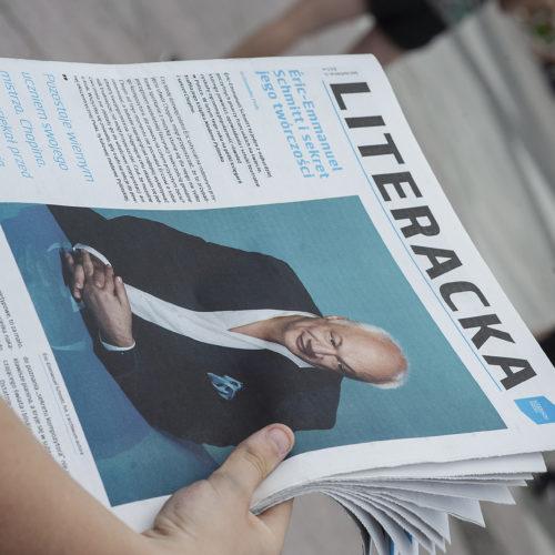 """Pofestiwalowy numer """"Literackiej"""" Literacki Sopot media"""